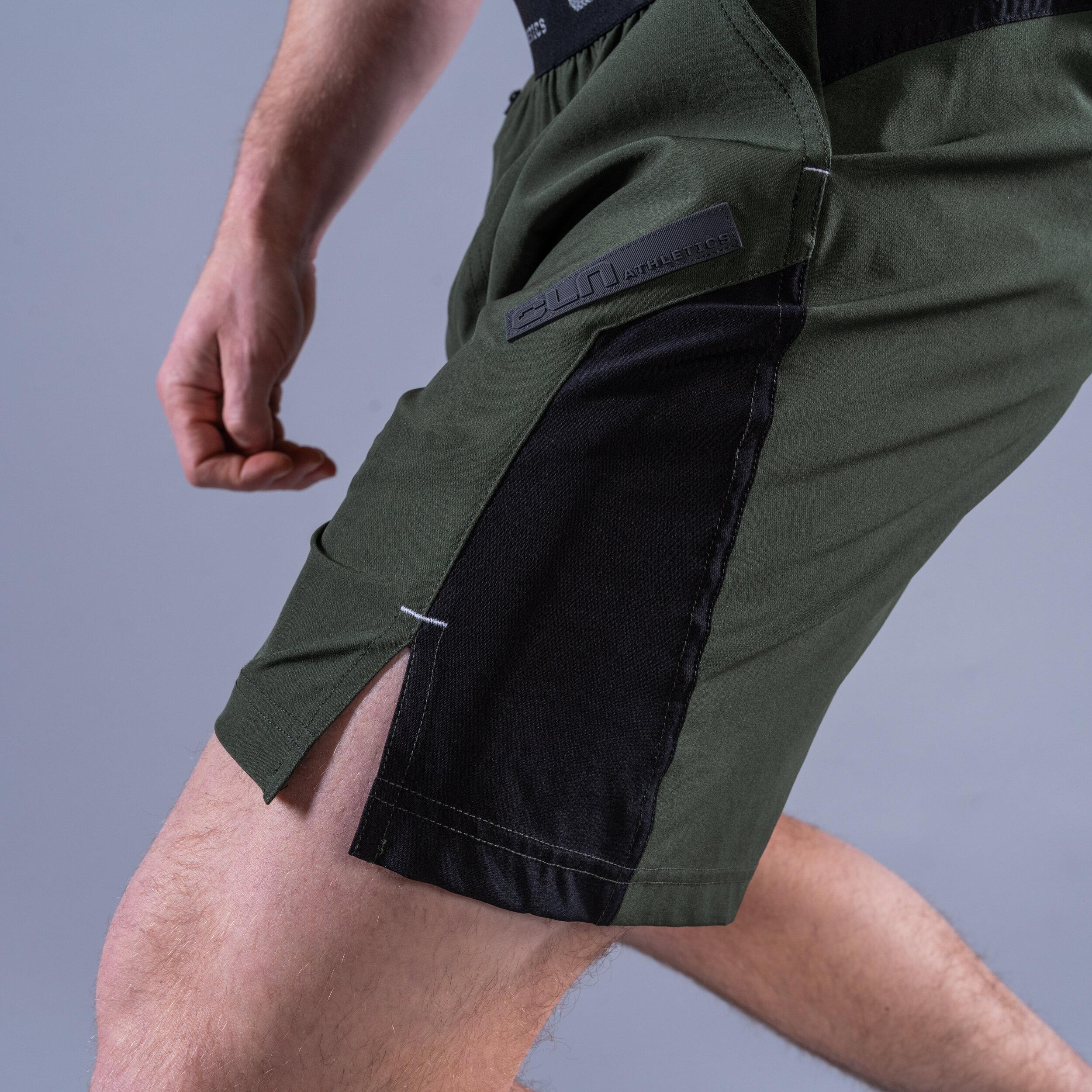 CLN Injection Shorts Dark green