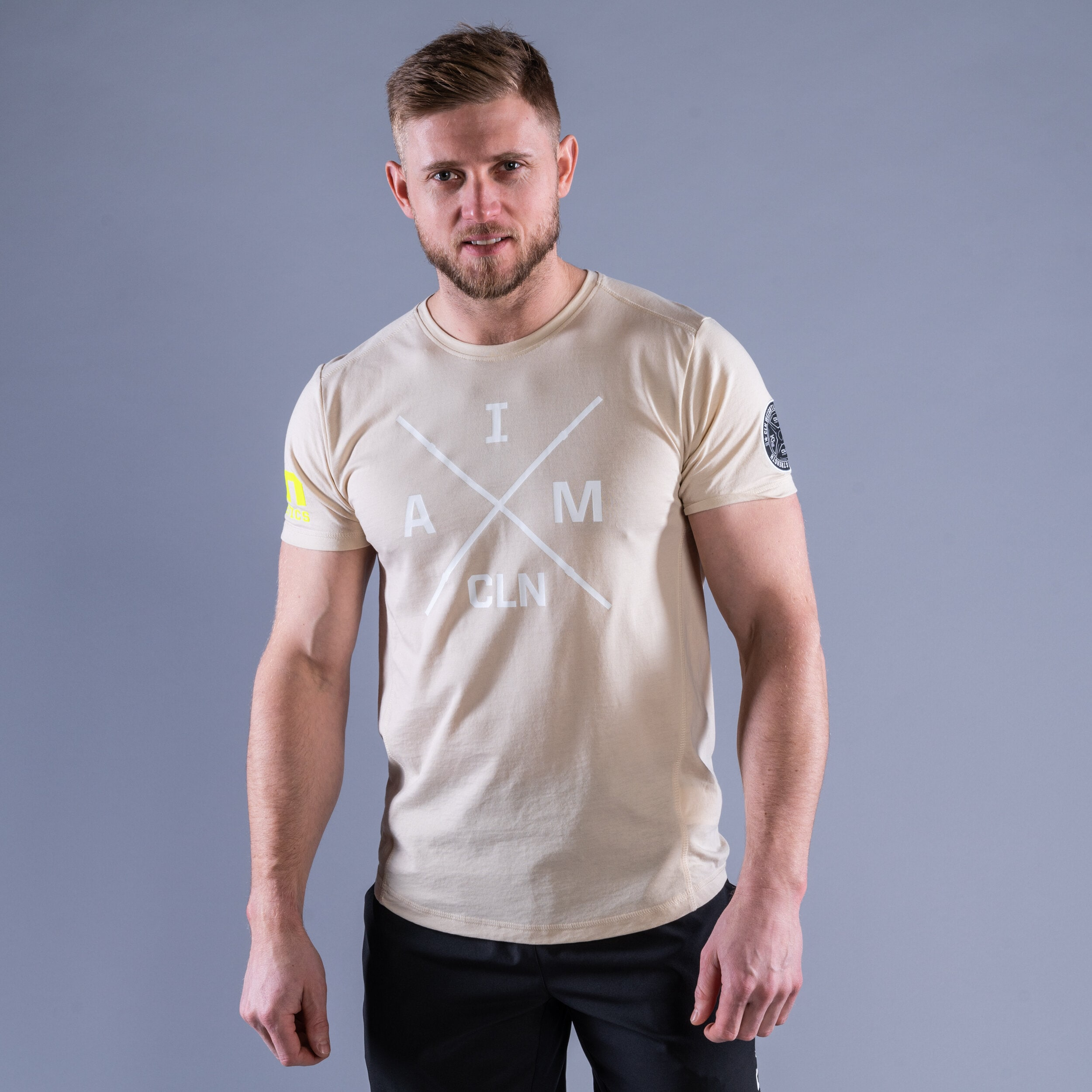 CLN Instructor t-shirt Sand