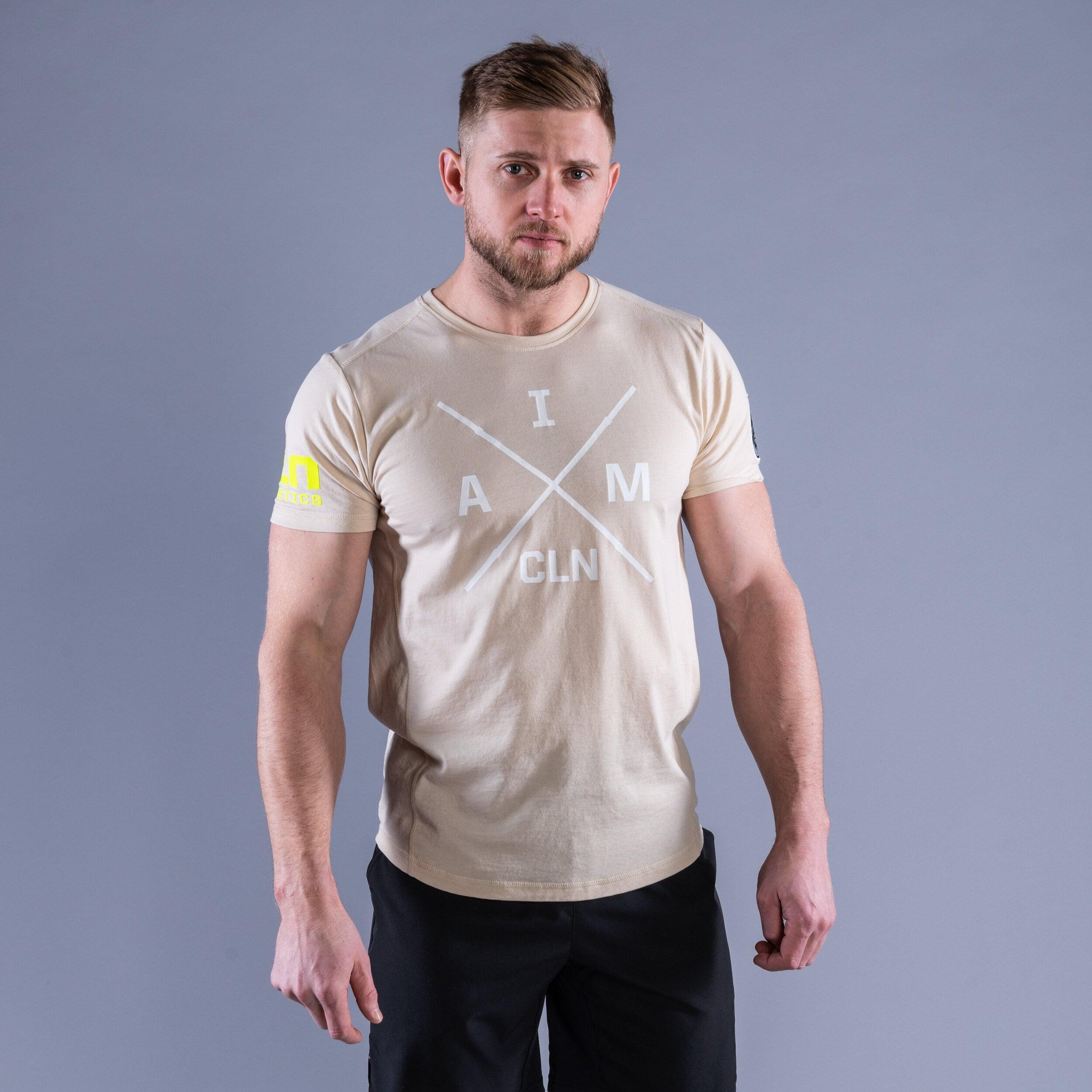 CLN Instructor t-shirt Sand
