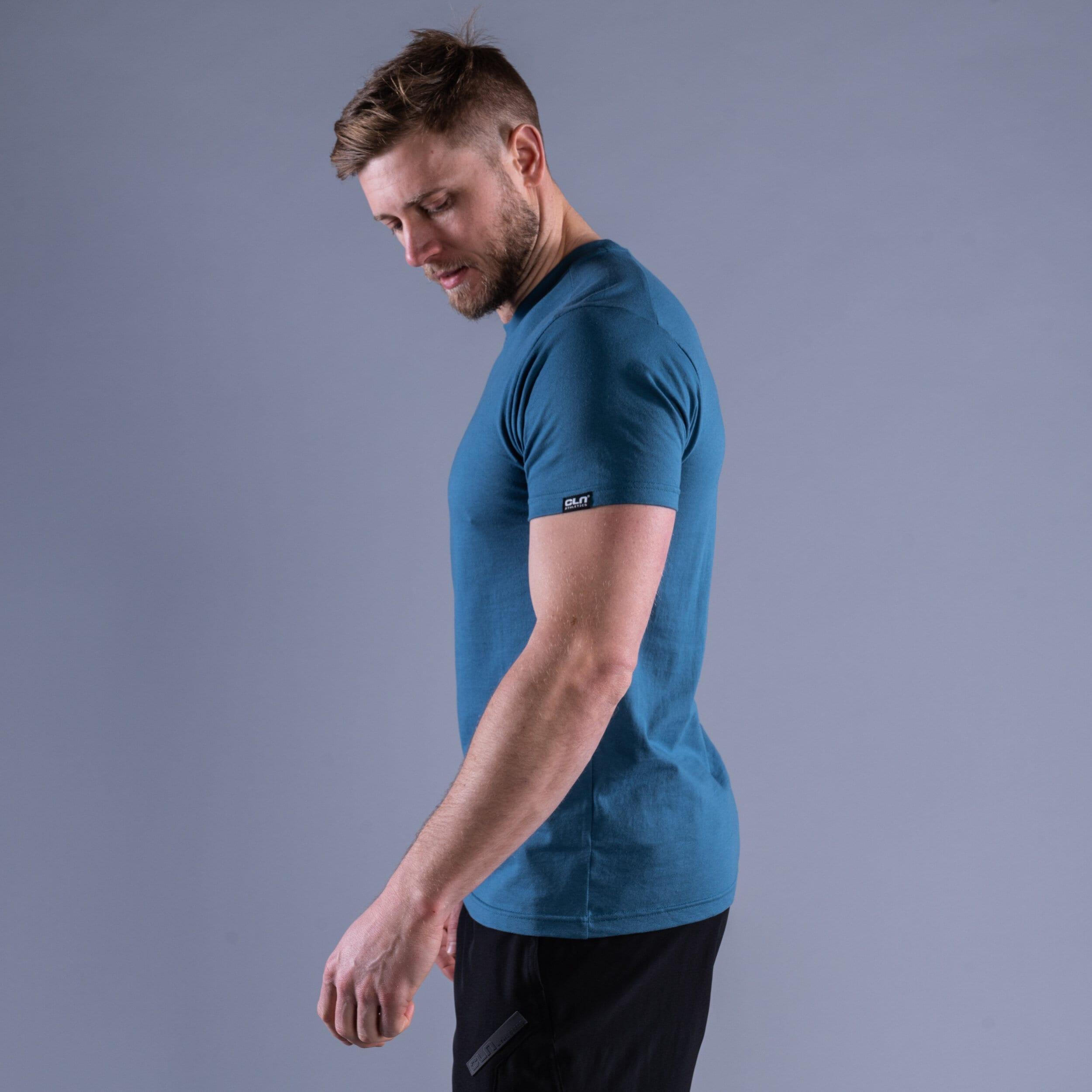 CLN Box t-shirt Ocean blue