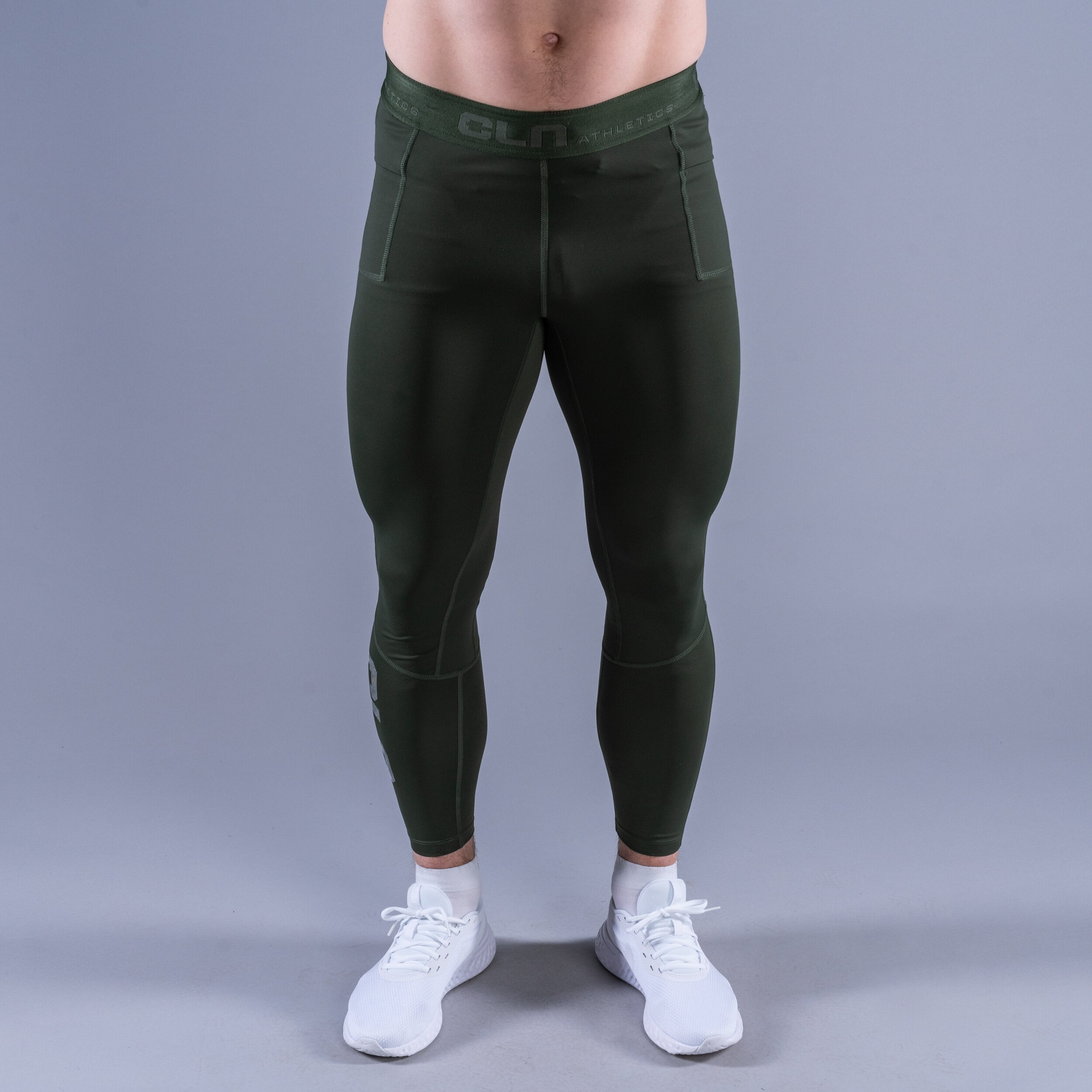CLN Tempo tights Dark green