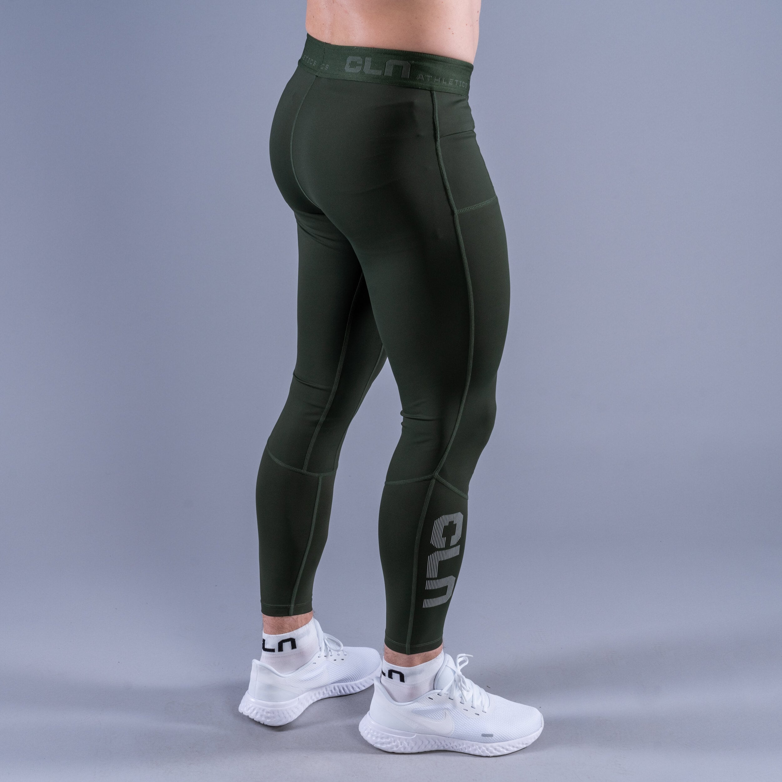 Package Tempo tights - Mist t-shirt Green