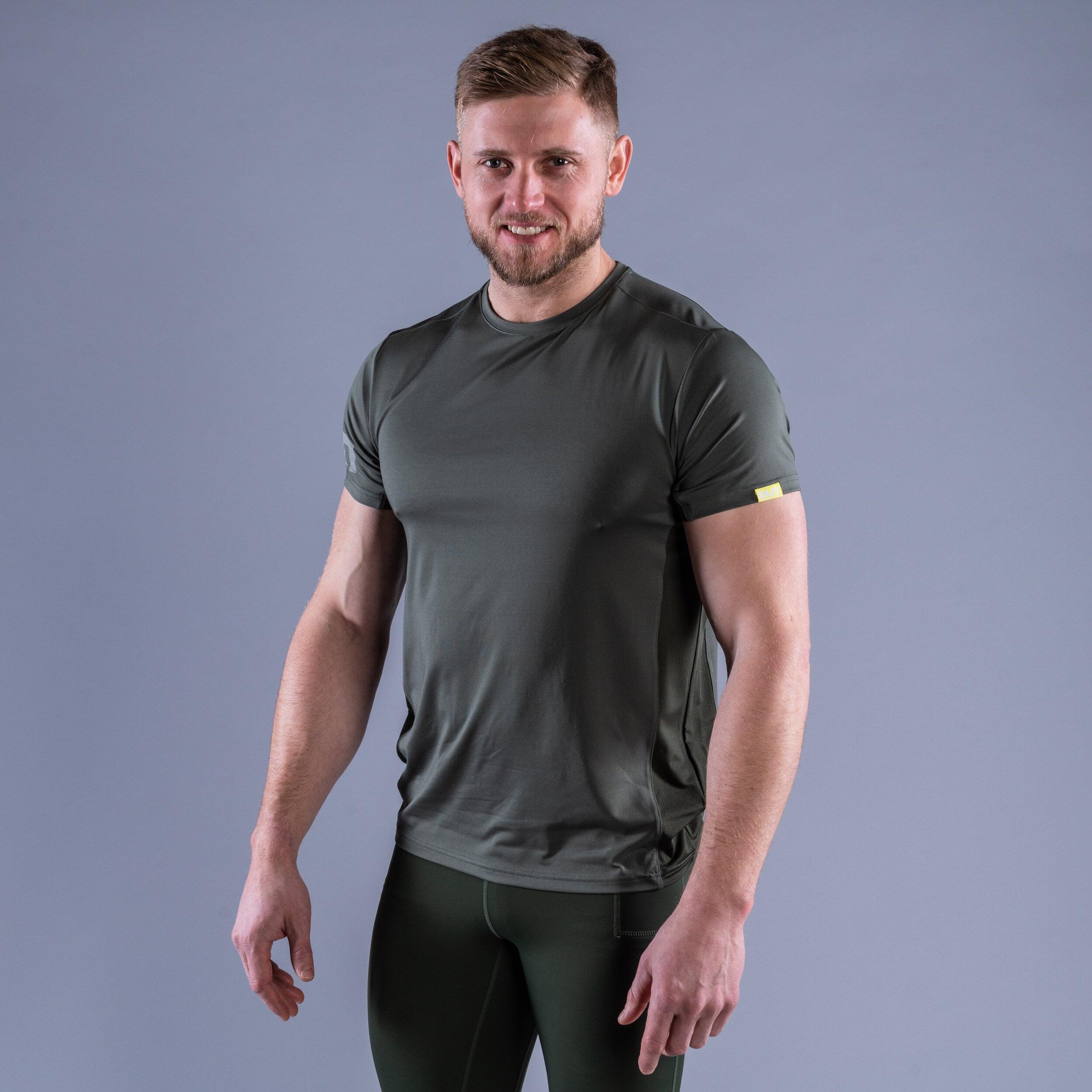 CLN Mist t-shirt Moss green