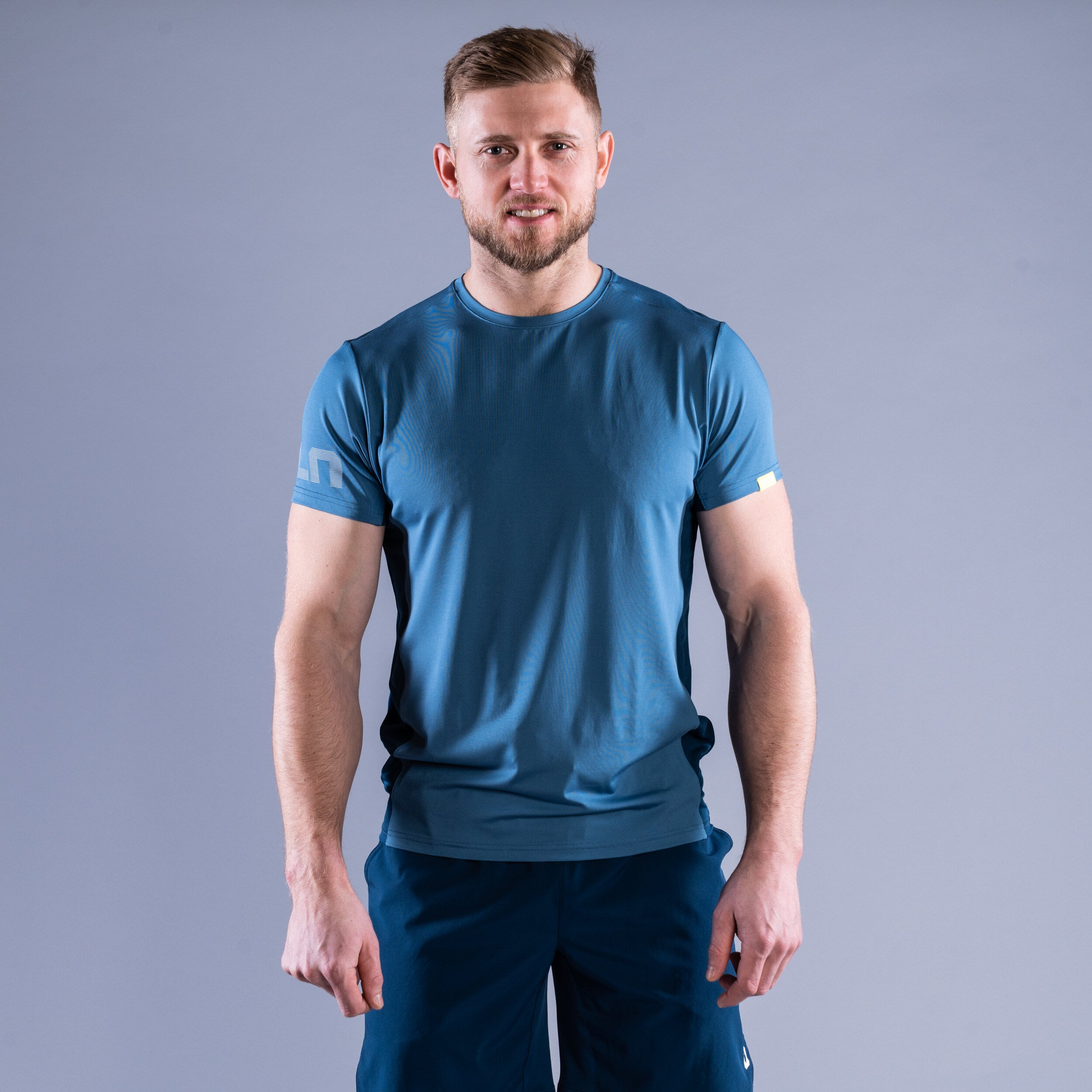 CLN Mist t-shirt Ocean blue