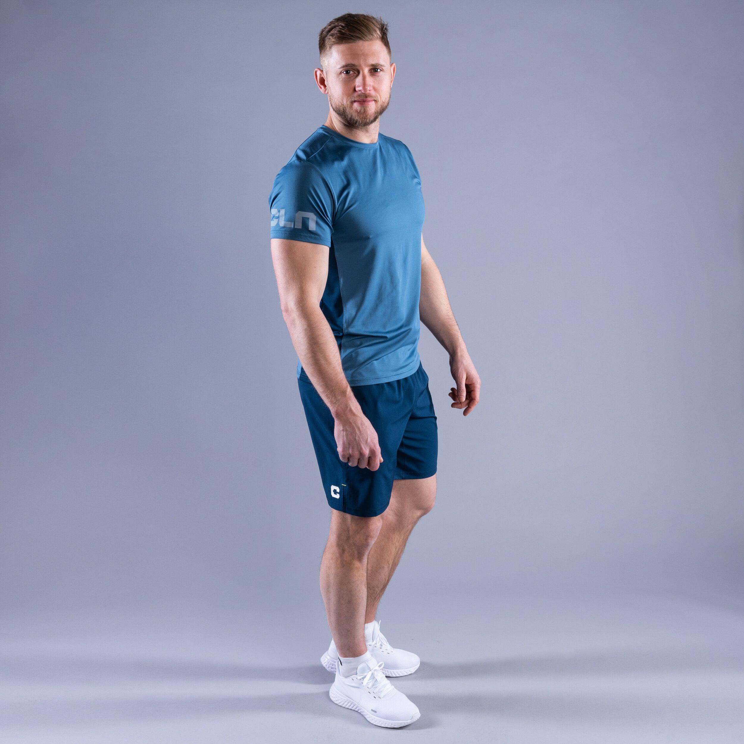 Package Dino shorts - Mist t-shirt Blue