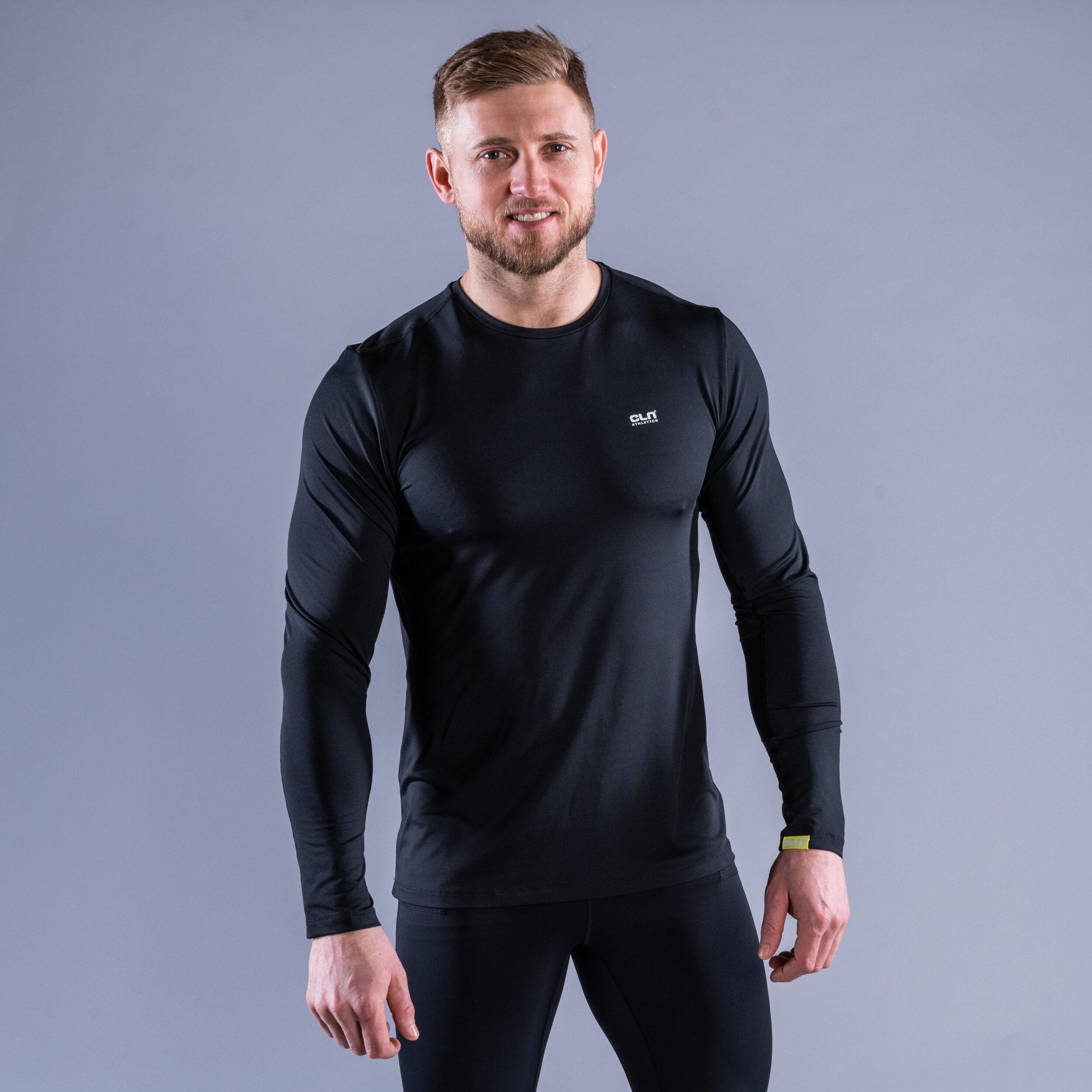 CLN Dawn longsleeve shirt Black