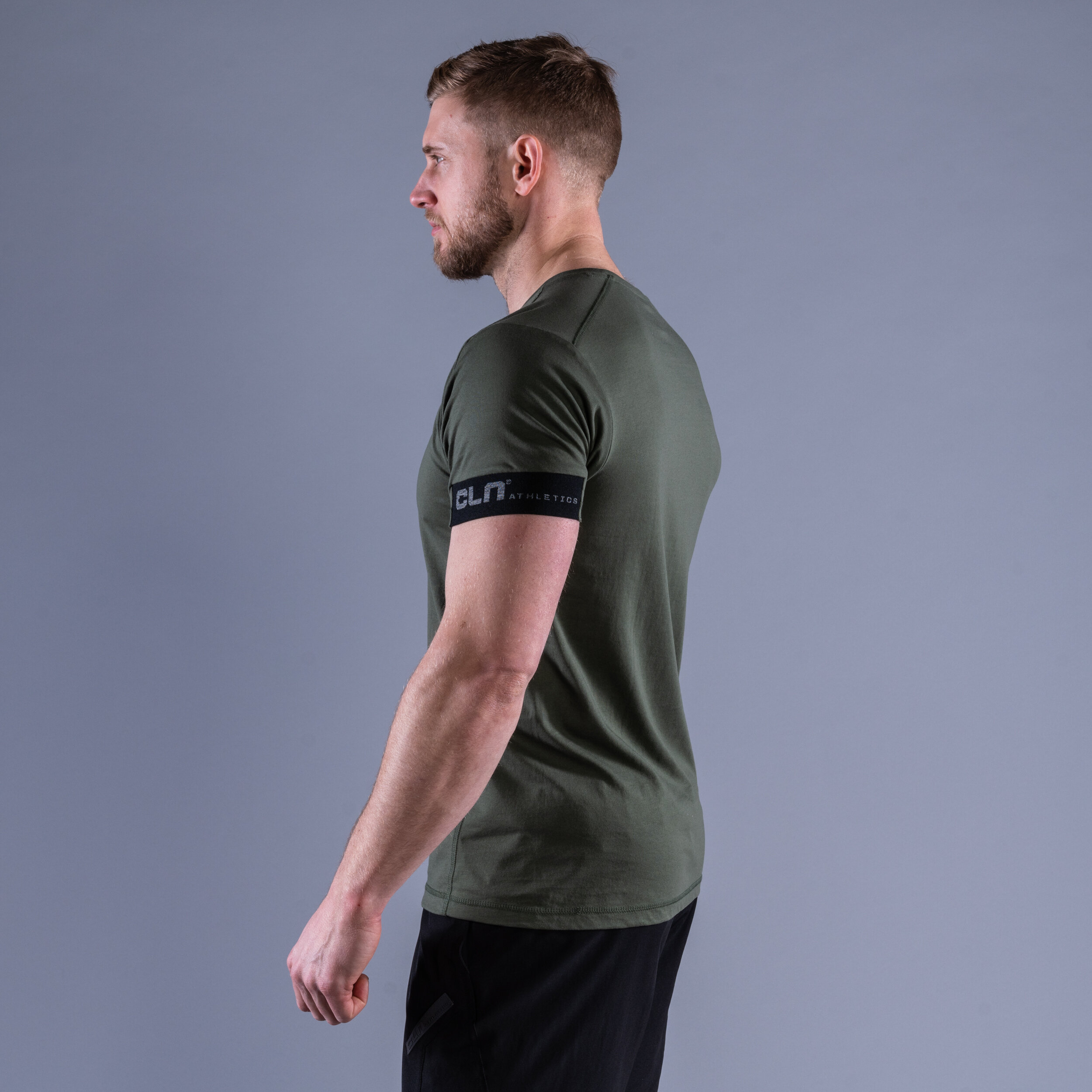 CLN Rush t-shirt Moss green