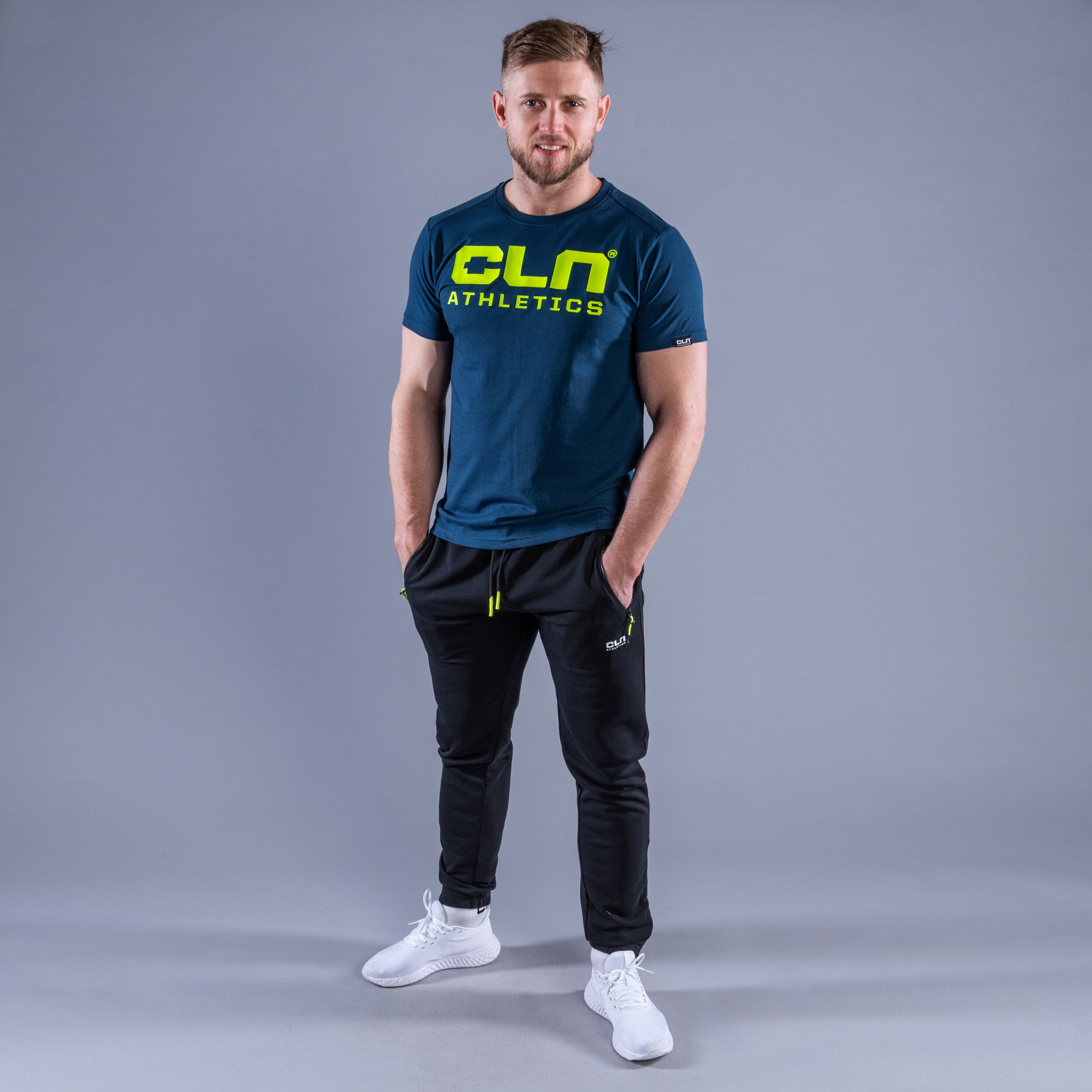 CLN Promo t-shirt Titan blue