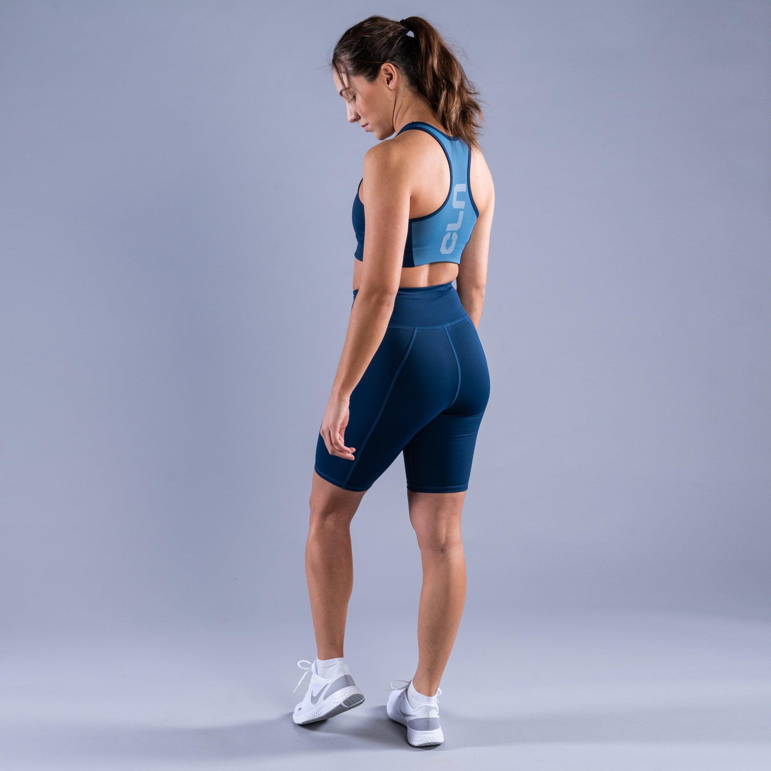 CLN Bike ws shorts Titan blue