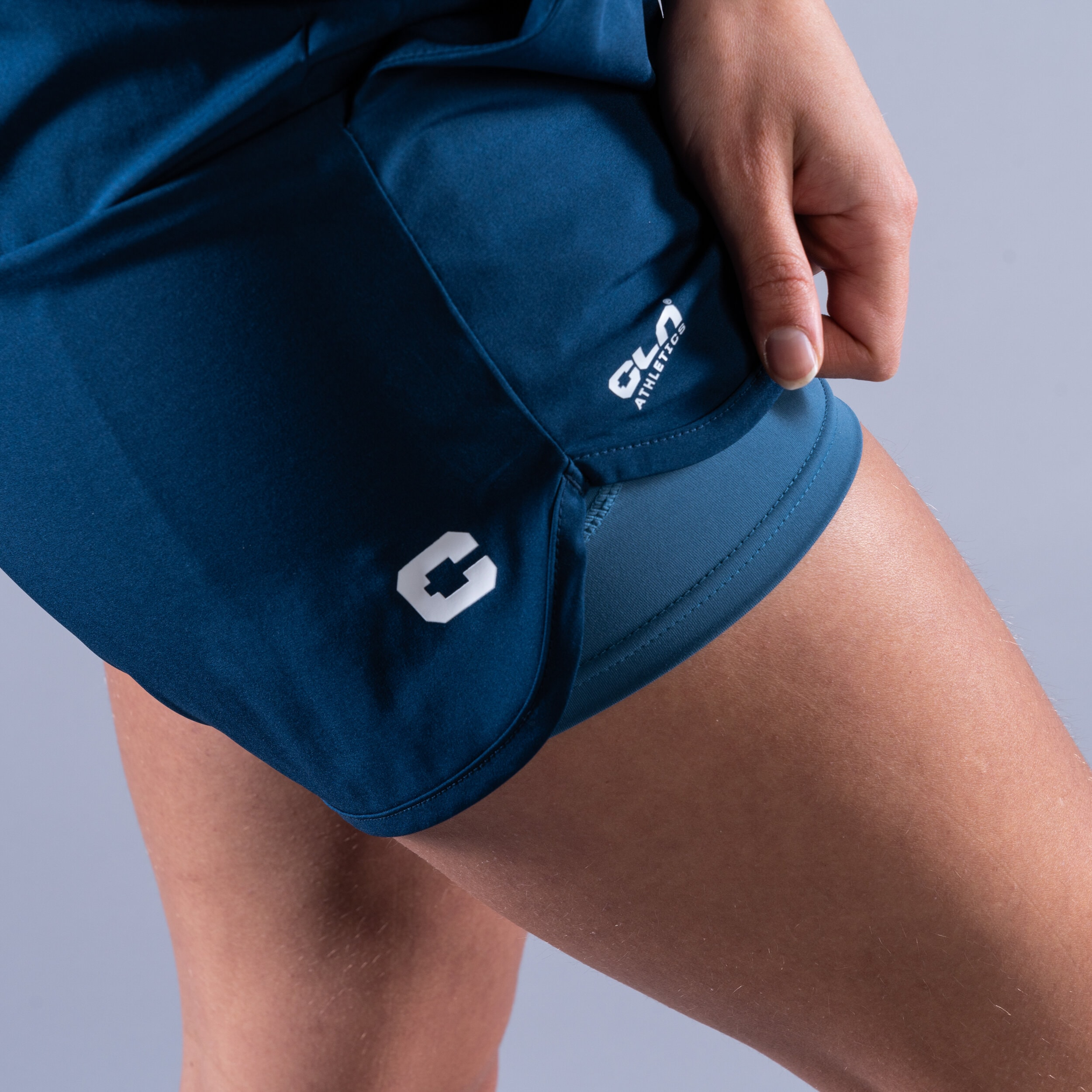 CLN Action ws stretch shorts Titan blue