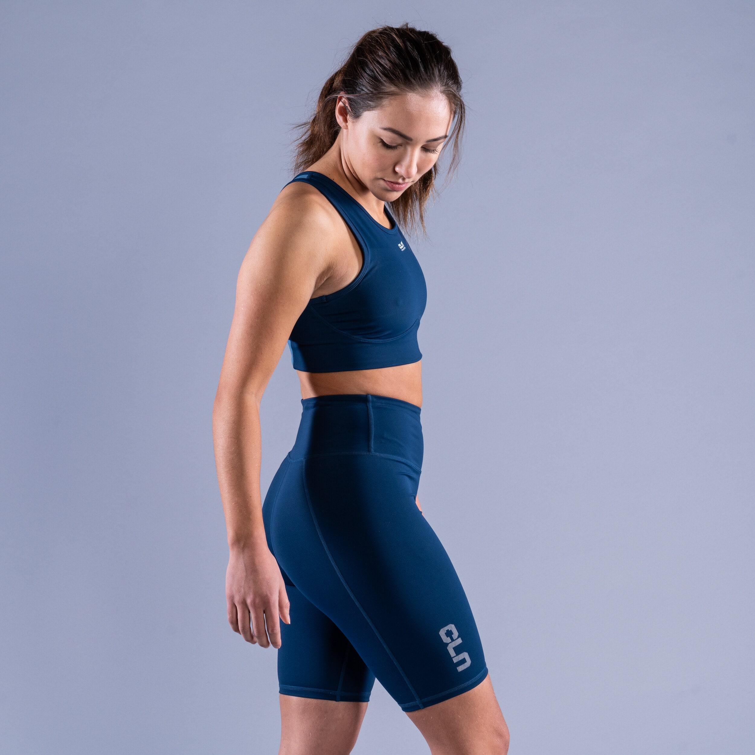 CLN Intense sport bra Titan blue