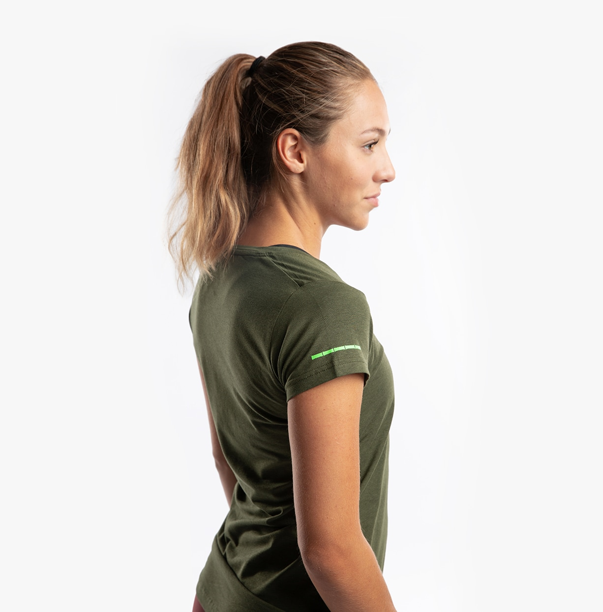 CLN Bamboo ws T-shirt Army