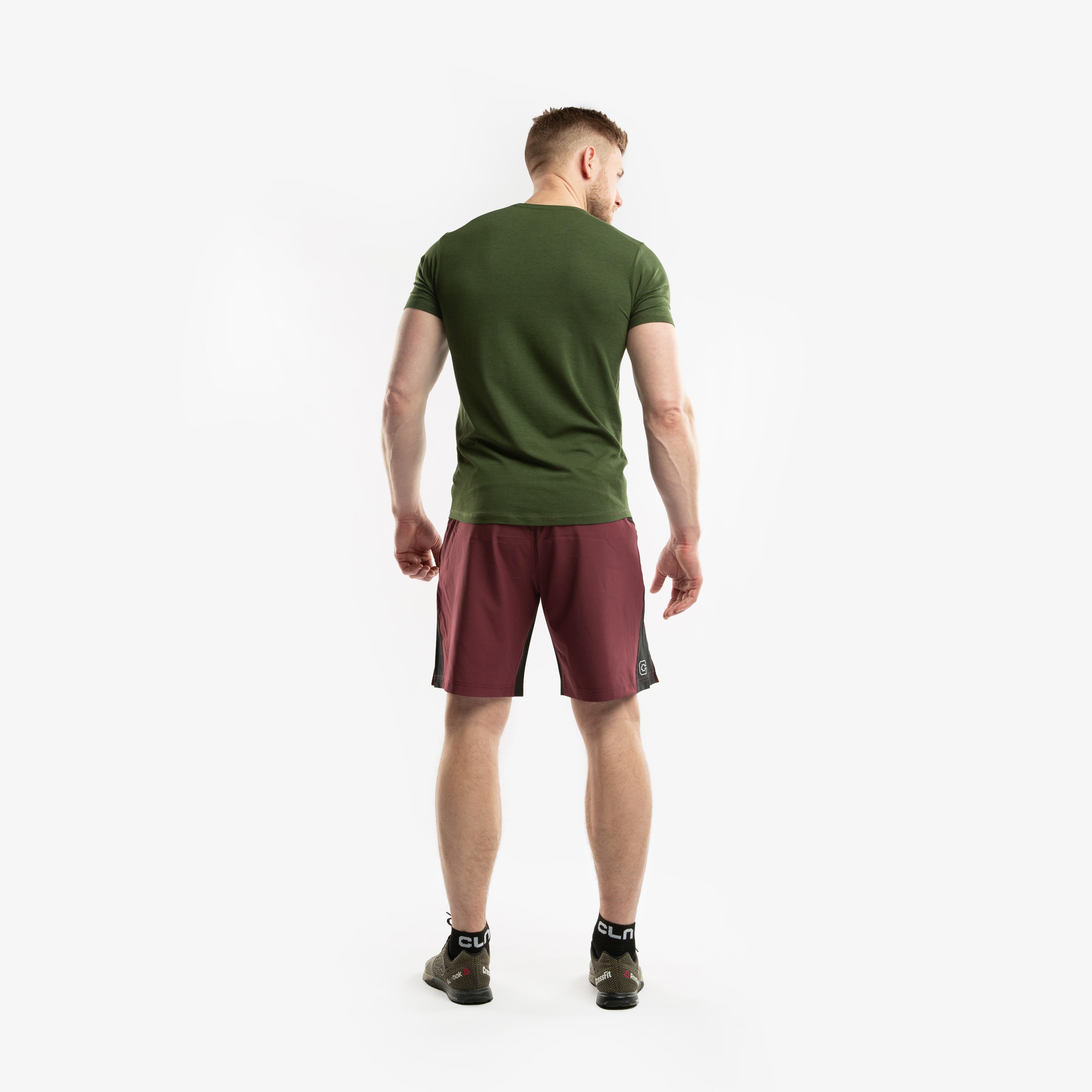 CLN Bamboo T-Shirt Forest green