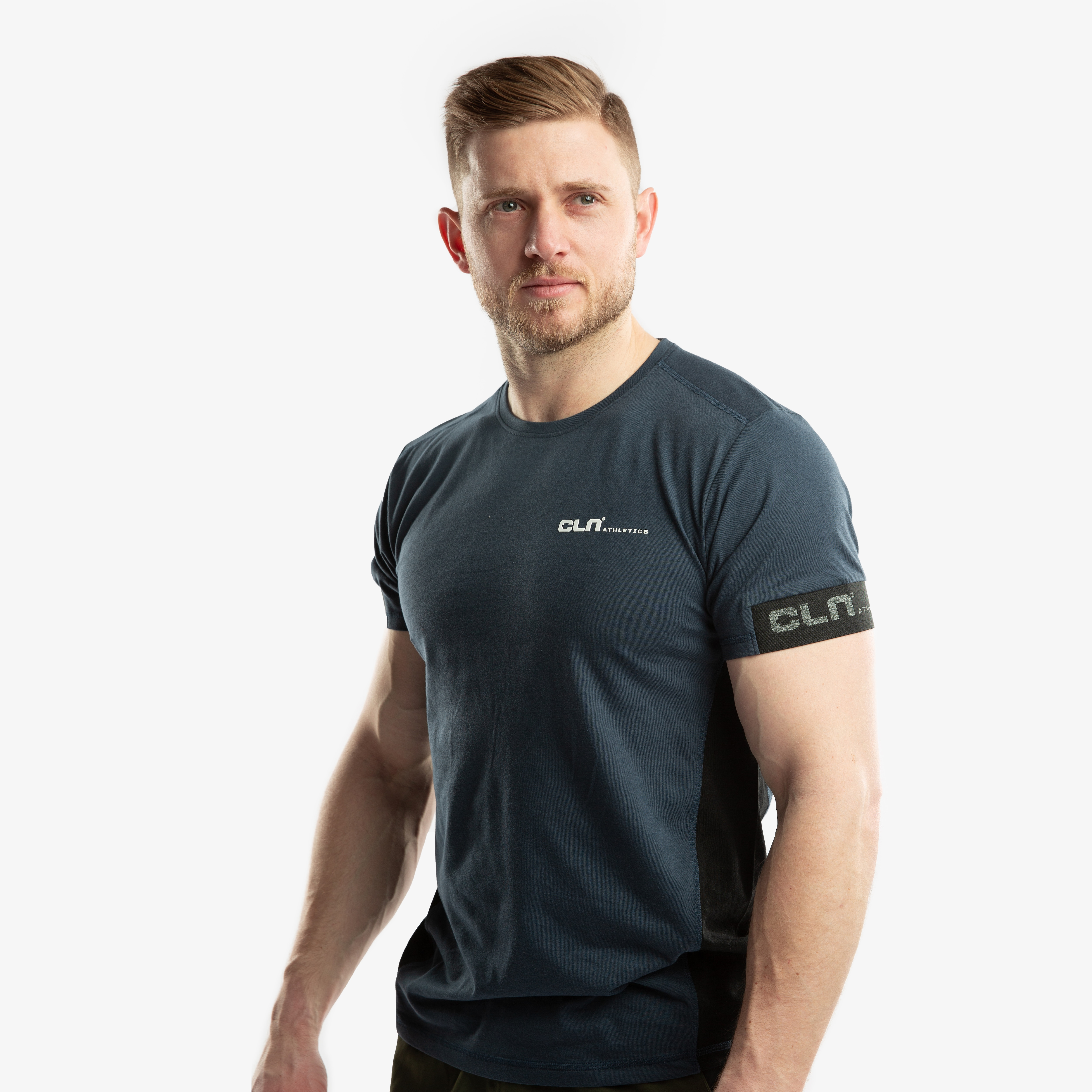CLN Crustic t-shirt Night blue