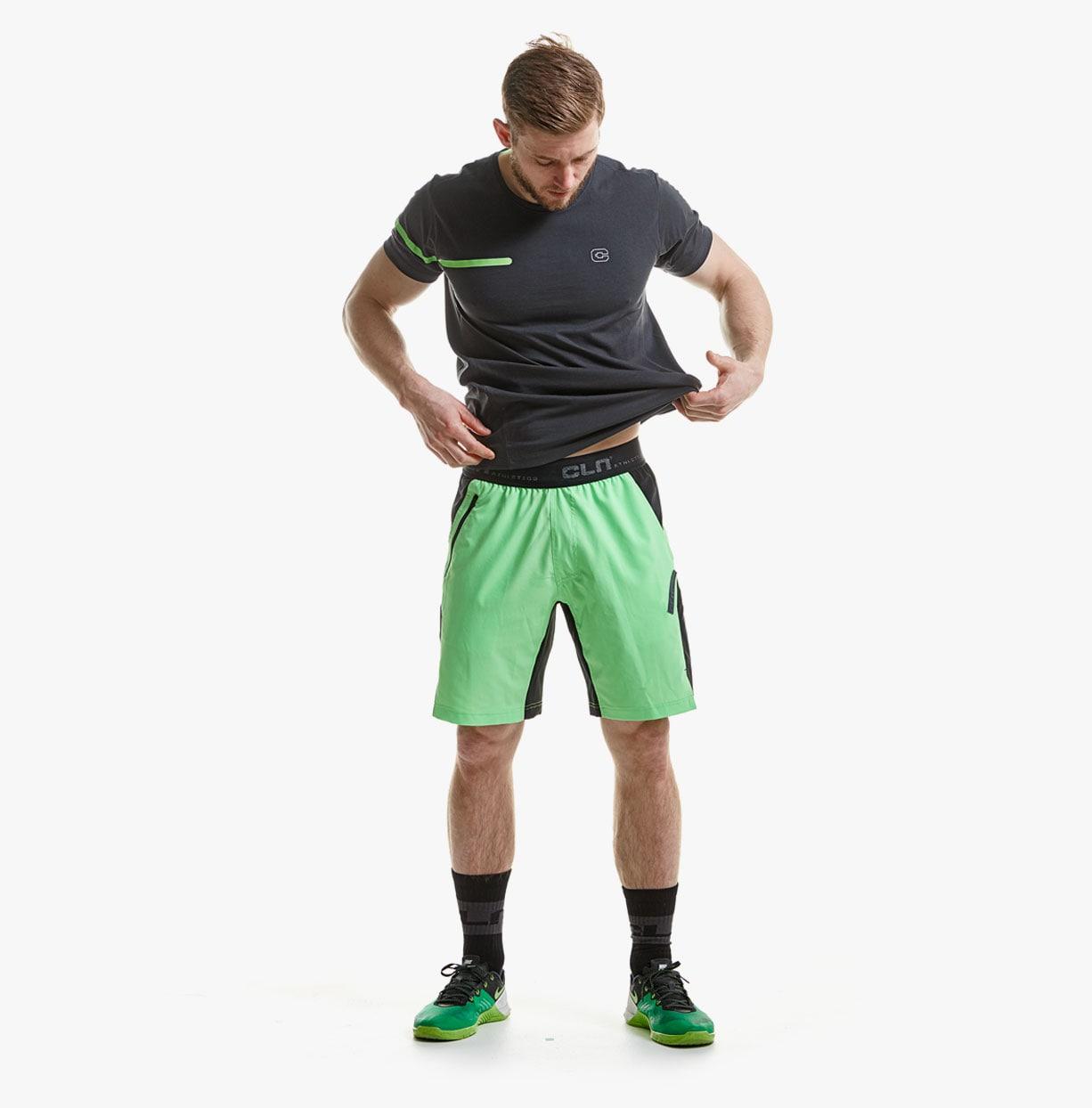 CLN-Injection-Shorts---Acid-green-1