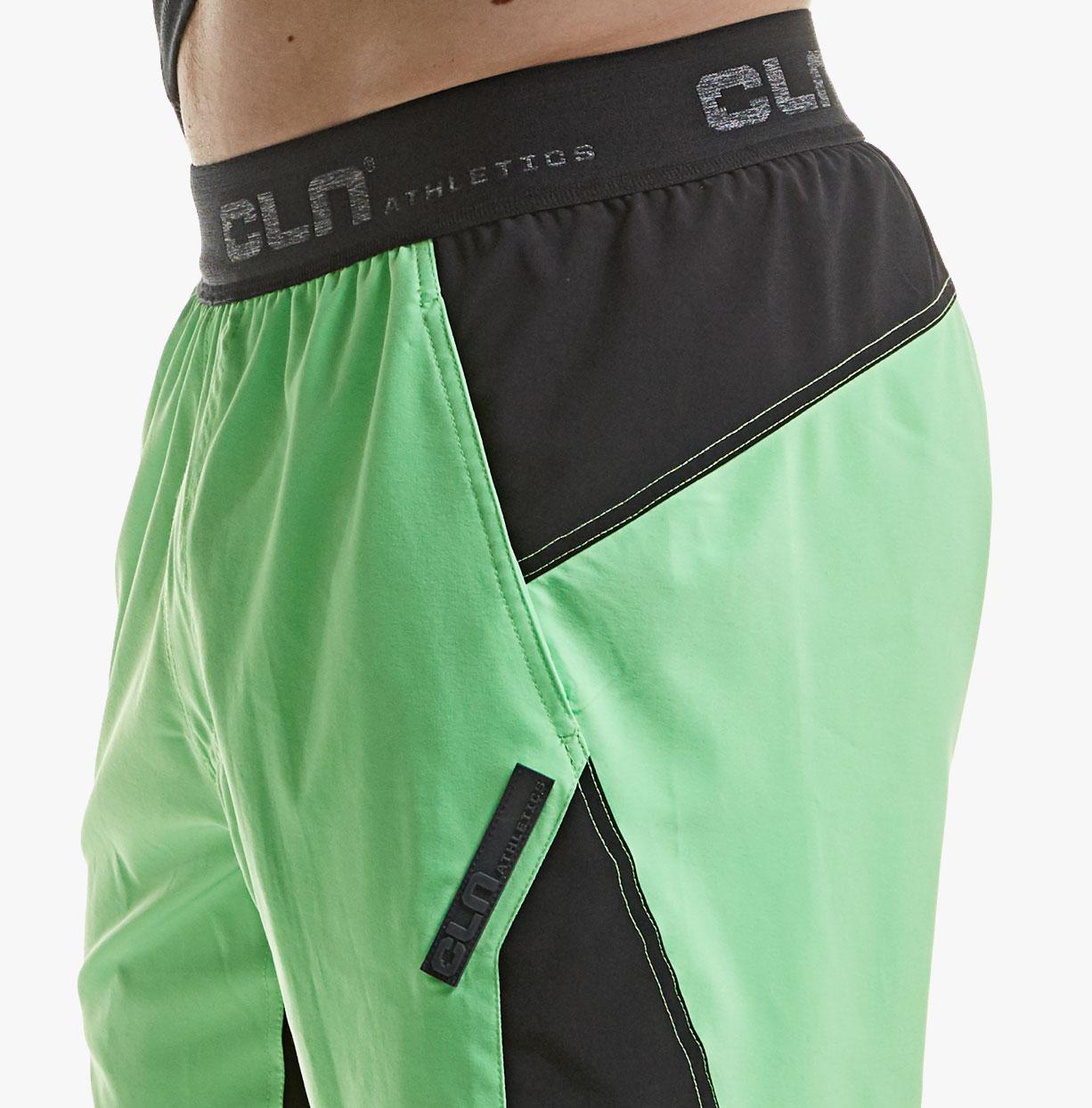 CLN-Injection-Shorts---Acid-green-detail