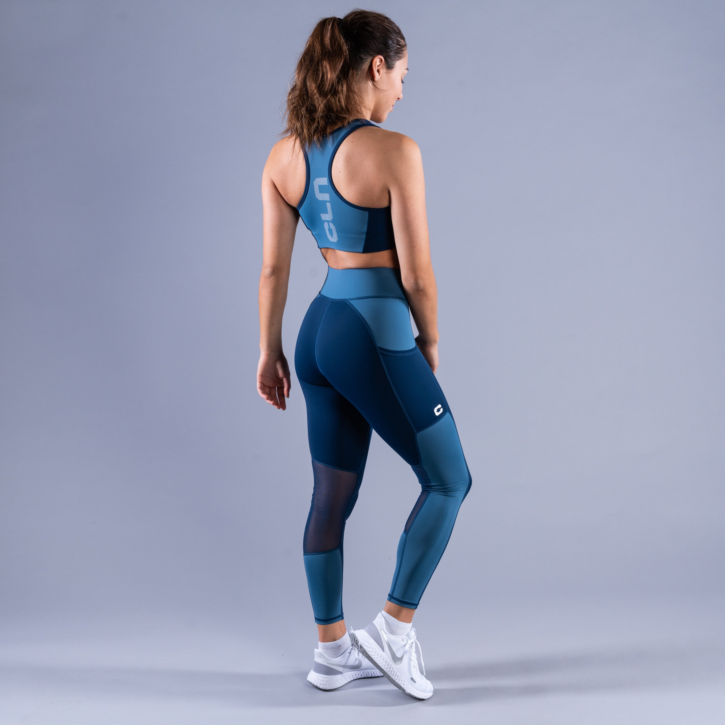 Freedom tights - Intense sport bra Package Blue