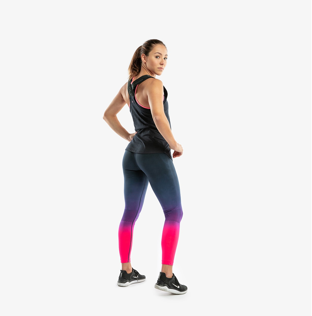CLN Seamless Tights Navy