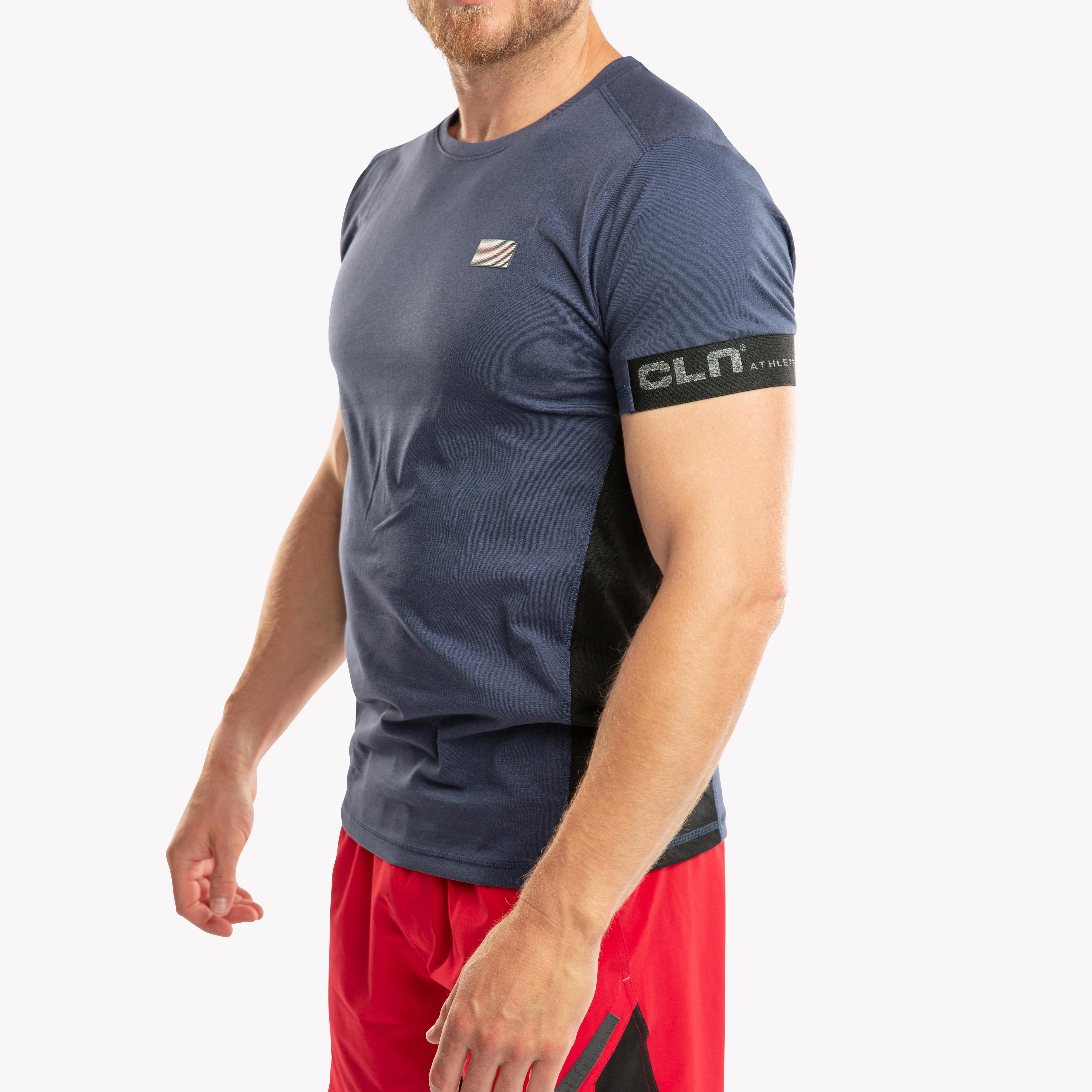 CLN Crustis t-shirt Indigo blue