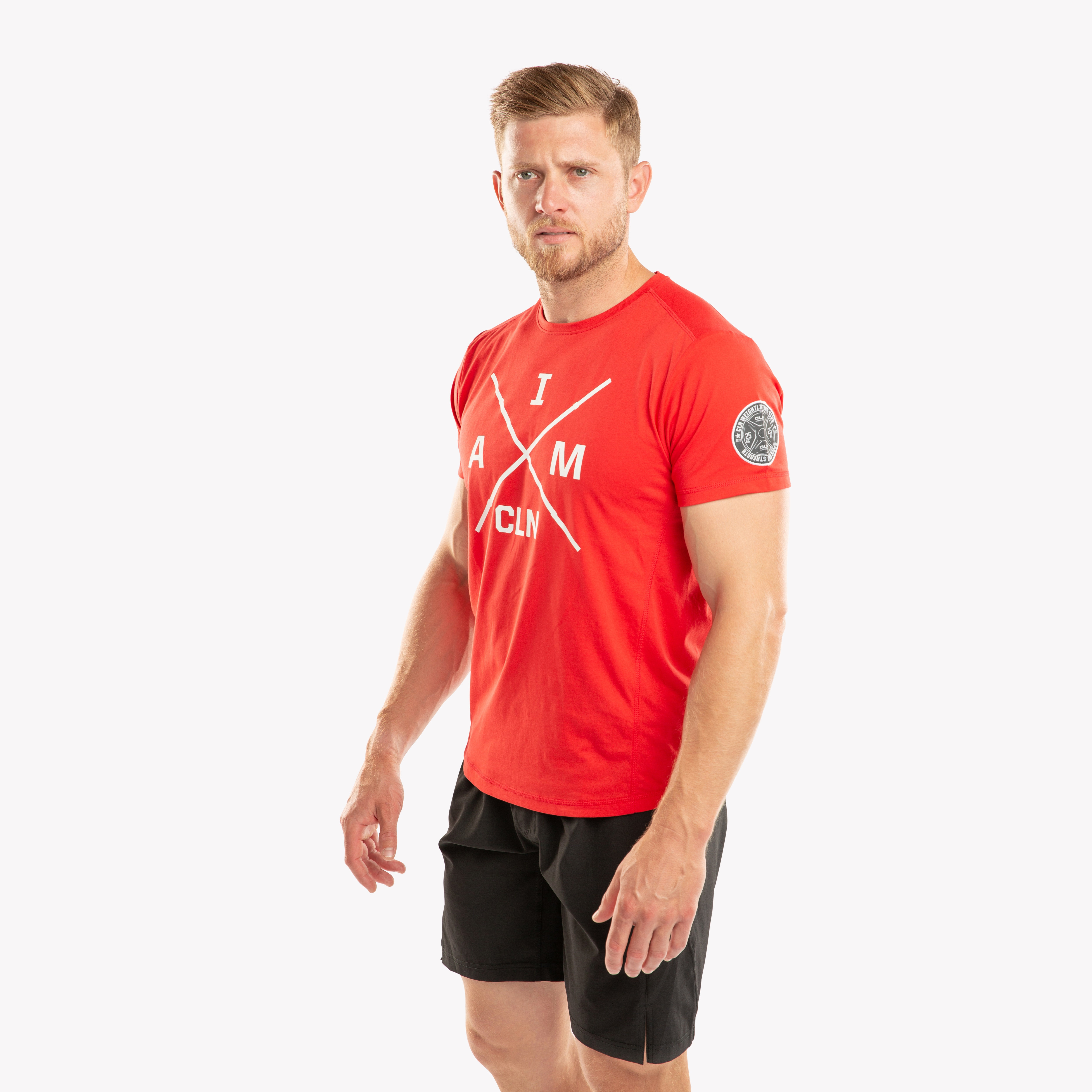 CLN Instructor t-shirt Red