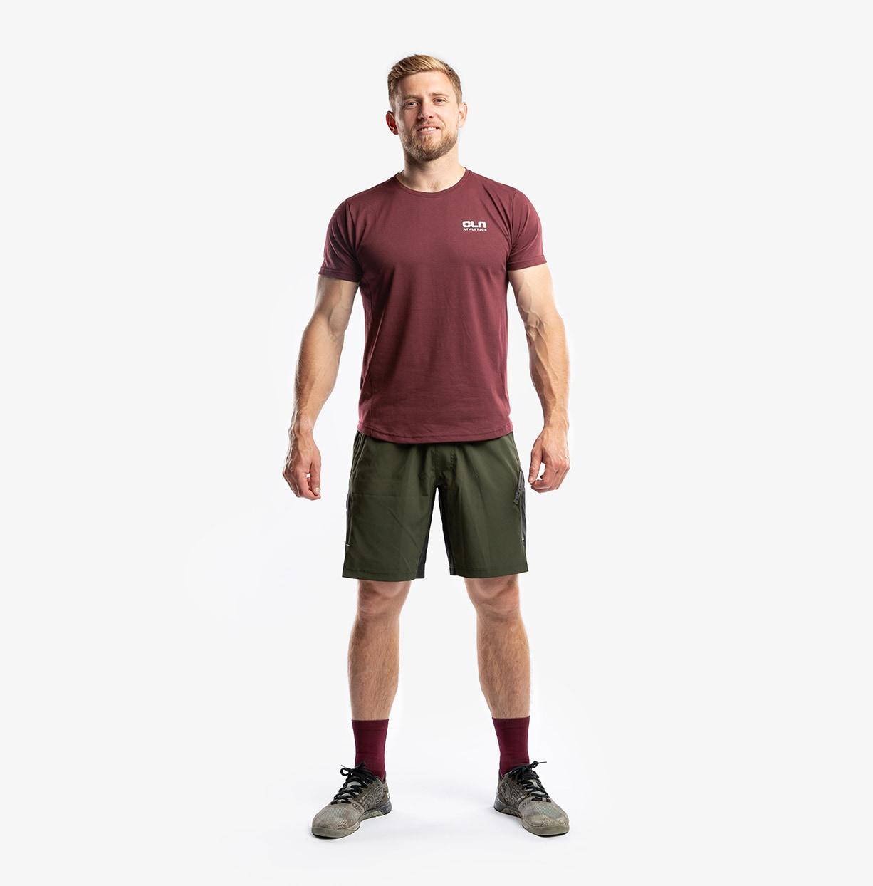 CLN Cruel T-Shirt Burgundy