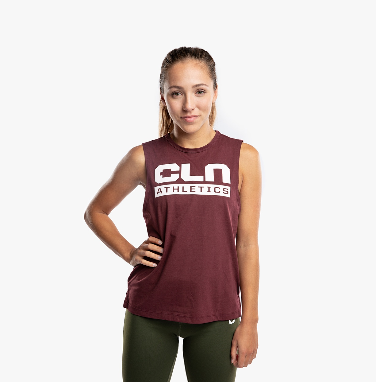 CLN Drop ws Top Burgundy