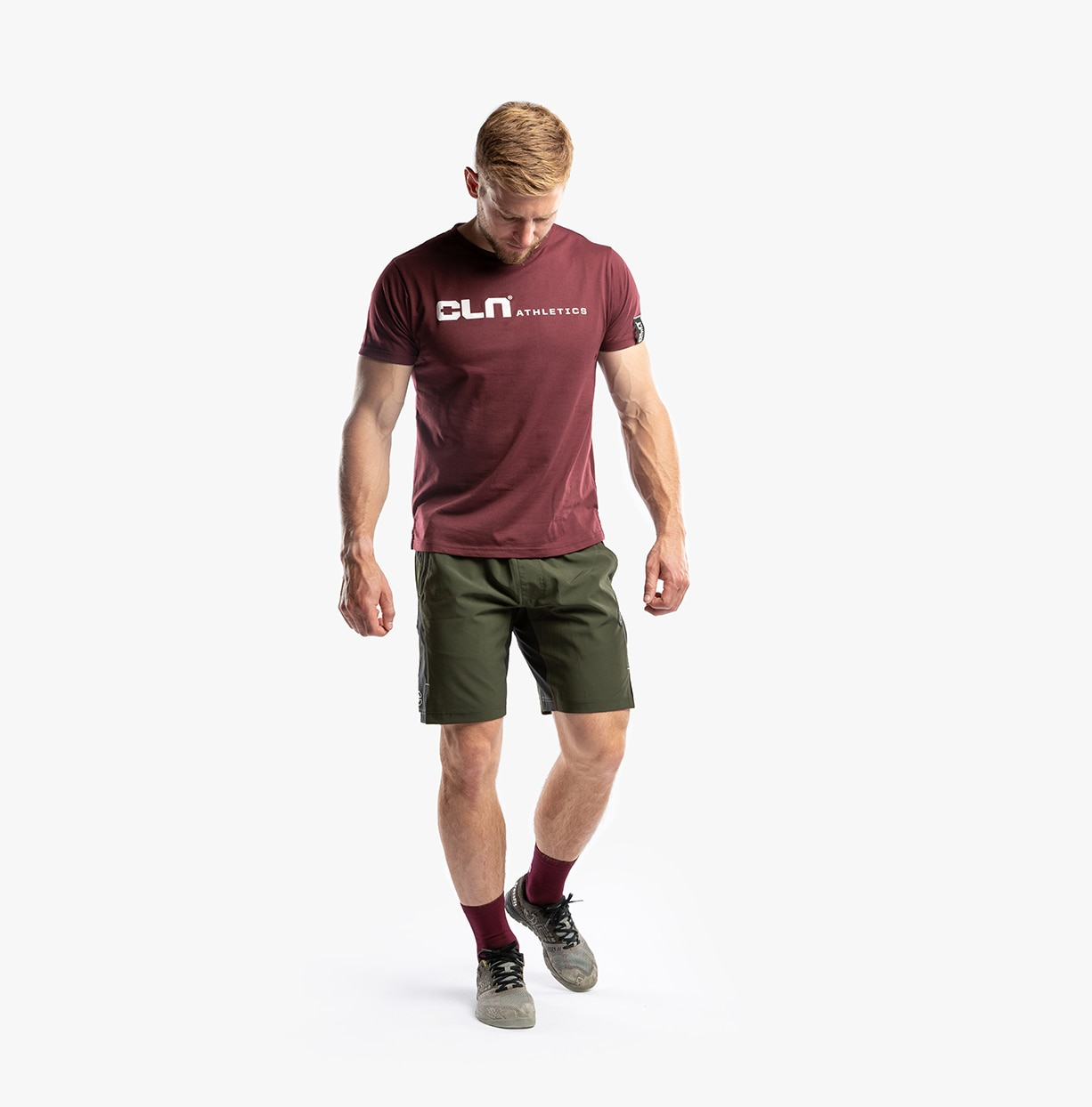 CLN Nogger T-shirt Burgundy