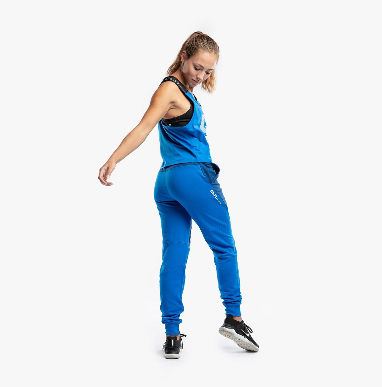 CLN Swatch ws Pants Peony Blue