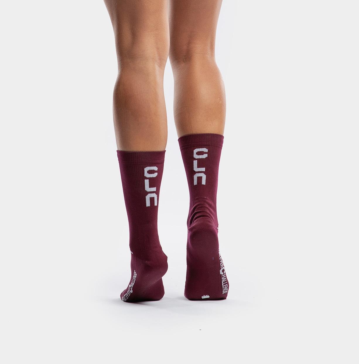 CLN Vision Socks Burgundy