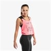CLN Density Cropped Top Shocking Pink